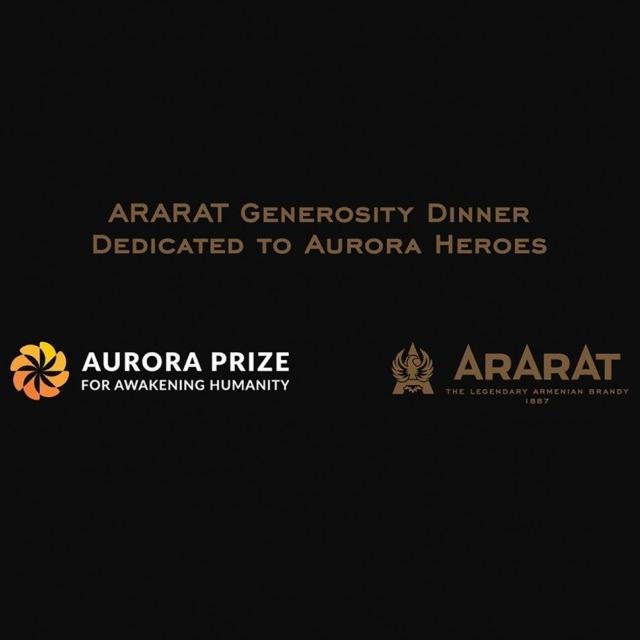 ARARAT Generosity Dinner Tribute To Aurora Heroes